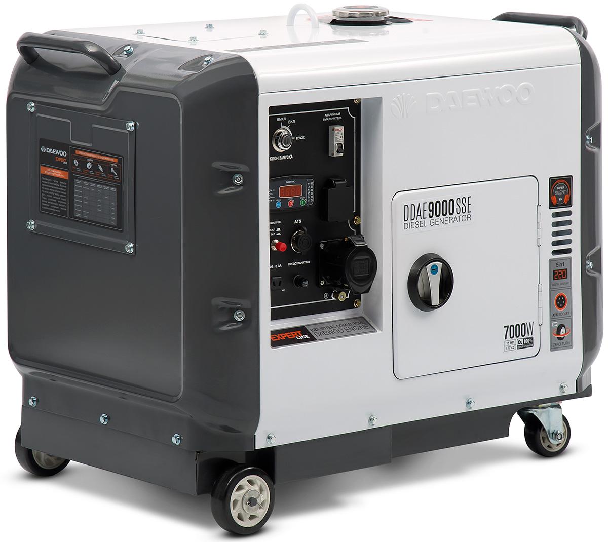 Электрогенератор Daewoo DDAE 9000SSE