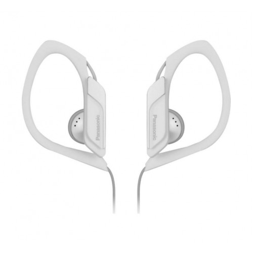 Наушники Panasonic RP-HS34E-WНаушники и гарнитуры<br>Компания Panasonic представляет наушники-клипсы RP-HS34, разработанные специально для атлетов, любящих музыку. Они отлично звучат, водонепроницаемы, надежно фиксируются на ушах и поставляются в разнообразных расцветках.<br><br>Это известный факт, что во время тренировок люди слушают музыку, и наушники-клипсы как нельзя лучше подходят для этого: они легкие, компактные и надежно фиксируются на ушах.<br><br>Наушники RP-HS34 разрабатывались на основе отзывов спортсменов. Они предлагают гибкую дужку, которая отлично огибает ухо и гарантируют, что наушники не слетят даже...<br><br>Тип: наушники<br>Вид наушников: Вкладыши<br>Тип подключения: Проводные<br>Номинальная мощность мВт: 200<br>Диапазон воспроизводимых частот, Гц: 10-25000<br>Сопротивление, Импеданс: 23 Ом<br>Чувствительность дБ: 100
