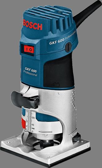 Фрезер Bosch GKF 600 [060160A100]Фрезеры<br><br><br>Тип: кромочный (триммер)<br>Мощность Вт: 600<br>Скорость вращения: 33000 об/мин