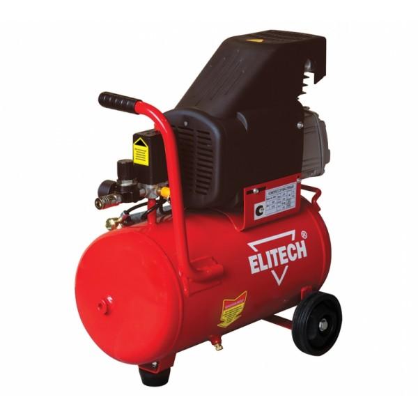 Компрессор Elitech КПМ 200/50Воздушные компрессоры<br>Масляный компрессор Elitech КПМ 200/50 используется для питания сжатым воздухом различных пневмоинструментов. Агрегат оснащен двигателем мощностью 1.5 кВт и ресивером емкостью 50 литров. Для более устойчивой работы компрессор оснащен опорными ножками с резиновыми насадками.<br><br>- масляный компрессор <br>- визуальный контроль давления в ресивере и на выход &amp;#40;манометры&amp;#41; <br>- регулировка давления на выход <br>- визуальный контроль масла в компрессоре &amp;#40;смотровое окно&amp;#41; <br>- электромеханический блок управления давлением в ресивере <br>- предохранительный механический...<br>