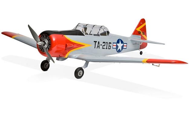 Радиоуправляемый самолет E-Flite AT-6 Texan