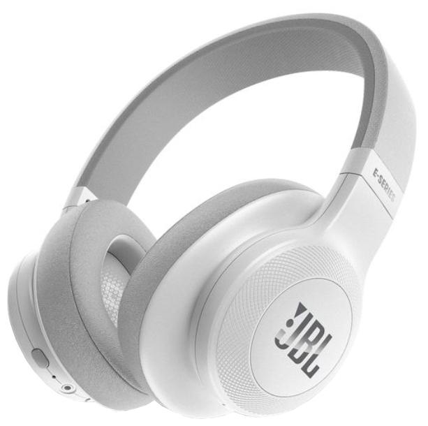 Наушники JBL E55BT WhiteНаушники и гарнитуры<br><br><br>Тип: наушники<br>Тип подключения: Беспроводные<br>Диапазон воспроизводимых частот, Гц: 20 - 20000<br>Сопротивление, Импеданс: 32 Ом<br>Микрофон: есть