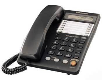 Проводной телефон Panasonic KX-TS2365RUBПроводные телефоны<br>Panasonic kx ts2365rub для разговоров с удовольствием.<br>Тот, кто уже выбрал для своего офиса проводной телефон Panasonic kx ts2365rub, давно наслаждается превосходной связью, используя все функции и возможности этого телефона. Впрочем, вы сами можете в этом удостовериться, прочитав отзывы об этой модели на любом сайте или форуме, посвященном телефонии.<br>Возможность переадресации, автодозвона, тонального набора, а также встроенный органайзер, наличие разъема для гарнитуры, функционального дисплея, спикерфона — все это делает телефон не только удобным, но еще и очень...<br><br>Тип: проводной телефон<br>Дисплей: есть<br>Органайзер: есть<br>Громкая связь (спикерфон): есть<br>Разъем для гарнитуры: есть<br>Количество линий : 1<br>Память (количество номеров): 30<br>Однокнопочный набор (количество кнопок): 20<br>Переадресация (Flash): есть<br>Повторный набор номера: есть