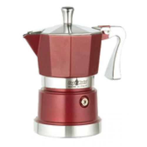 Кофеварка Top Moka Caffettiera Super Top 6 п. VinousКофеварки и кофемашины<br><br><br>Тип : гейзерная кофеварка<br>Объем, л: 0,24<br>Материал корпуса  : Металл