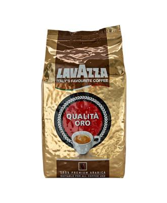 Кофе в зернах Lavazza Oro 1000 гр.Кофе, какао<br>Кофе в зернах Lavazza Oro (Лавацца Оро) очень популярен, так как прекрасно готовится не только в профессиональных, но и в домашних кофемашинах. Это смесь лучших сортов Арабики, завезенных из Центральной и Южной Америки. Такой состав позволяет получать напиток с отчетливым и легко узнаваемым ароматом. Приготовленный кофе обладает сладковатым вкусом с приятной кислинкой. Консистенция получаемого напитка средняя. <br><br>Lavazza Qualita Oro - прекрасный кофе, по праву считается идеальной смесью для приготовления классического эспрессо.<br><br>Вакуумная упаковка со специальным...<br><br>Тип: кофе в зернах<br>Обжарка кофе: средняя<br>Кофеин: С кофеином<br>Состав: 100% Арабика<br>Дополнительно: 100% Арабика