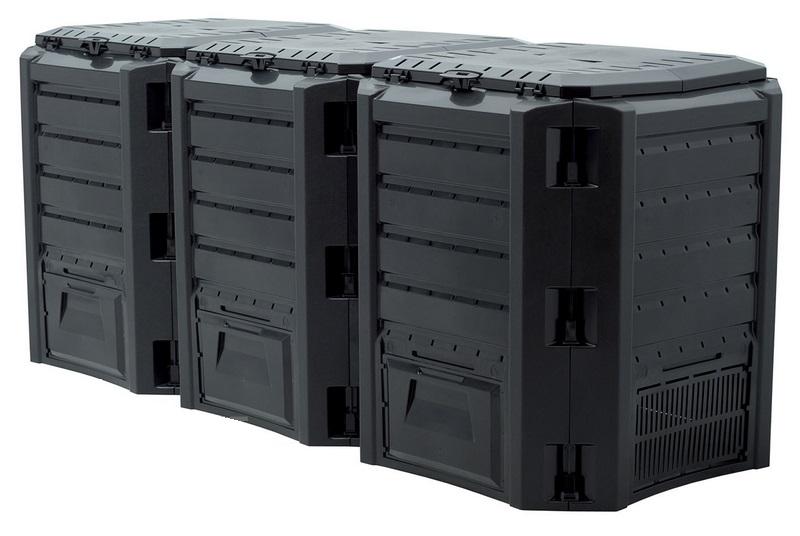 Компостер Module IKSM1200C-S411Садовые компостеры<br><br><br>Тип: компостер<br>Объем, л: 1200