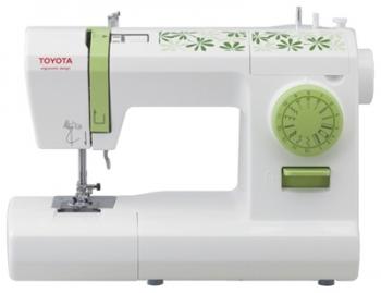 Швейная машина Toyota Eco 15CGШвейные машины<br><br><br>Тип: электромеханическая<br>Тип челнока: ротационный горизонтальный<br>Вышивальный блок: нет<br>Количество швейных операций: 15<br>Выполнение петли: полуавтомат<br>Оверлочная строчка : есть<br>Потайная строчка : есть<br>Эластичная строчка : есть<br>Эластичная потайная строчка: есть<br>Кнопка реверса: есть