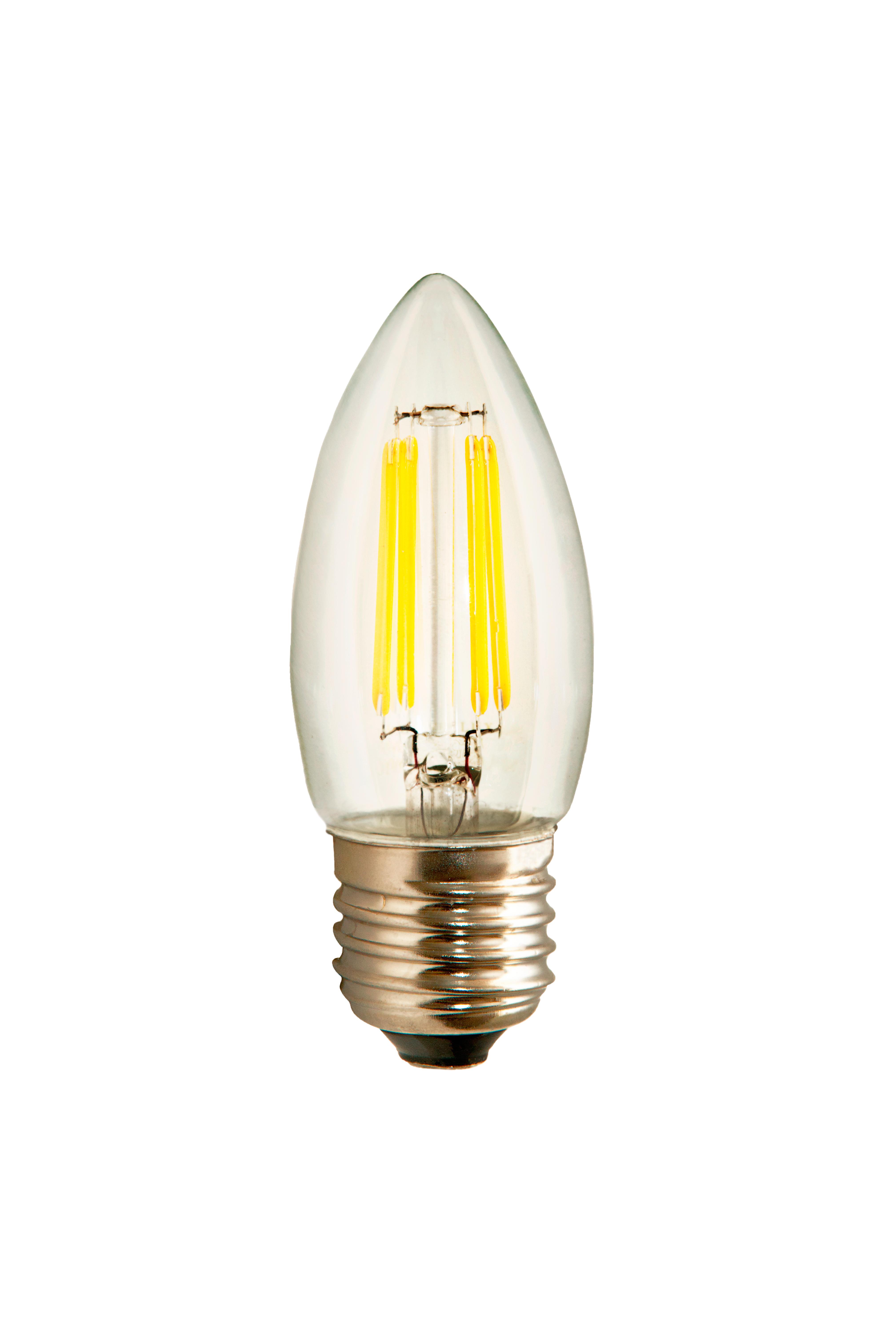 Светодиодная лампа VKlux BK-27W5C30 Edison, 5Вт, 3000К