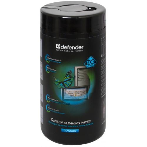 Салфетки чистящие влажные Defender CLN 30320