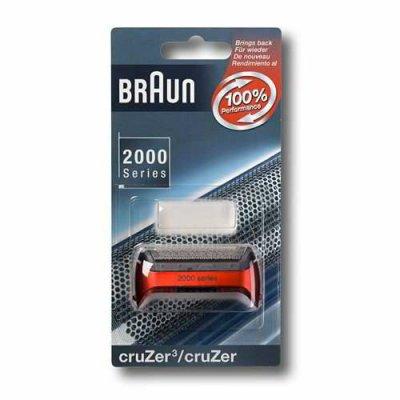 Сетка Braun 2000 CruZer 20S RedАксессуары для бытовой техники<br><br><br>Тип: сетка<br>Описание: совместимость: серии бритв: Series Z / CruZer, CruZer3, CruZer4, подходит для следующих моделей: Z40, Z50, Z60, 2838, 2775, 2776, 2864, 2865, 2866, 2874, 2876, 2675, 2778, 2878, 170, 190, 180, 1775, 1735, 1715
