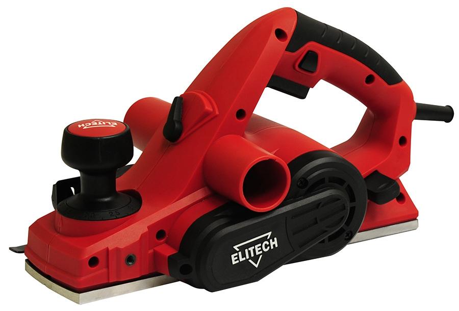 Электрорубанок Elitech Р 110Электрорубанки<br>Рубанок ELITECH Р 110 предназначен для строгания древесины до абсолютно ровной поверхности. Данная модель является достаточно мощной благодаря достижению 15000 об/мин. при мощности в 1000 Вт. Рубанок обладает удобной эргономичной ручкой, а также небольшим весом, составляющим всего 4,2 кг.<br><br>Мощность Вт: 1000<br>Максимальное количество оборотов: 15000 об/мин<br>Глубина обработки: 3 мм<br>Ширина обработки: 110 мм