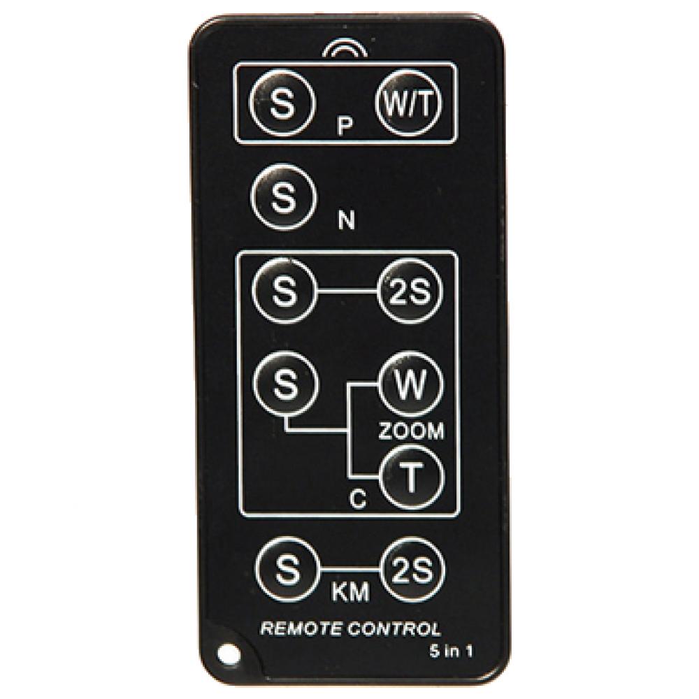 Пульт дистанционного управления Dicom TX1003Аксессуары для фототехники<br><br><br>Цвет : черный<br>Дополнительно: совместим с Nikon: D80, D40, D90, D40X, D3000, F75, D5000, F65, D70S, F55, D70, N65, D50, N75, 8400, Nu/isS, 8800, Lite Touch. Canon: 7D, 5DMARKII, 450D, 500D, SURESHOT, Z180u, EOS400D, EOS50/55, EOS10, EOSIX, ELAN7, Z155, EOS350D, EOSklSSIll, EOS300V, IXUS Jr/II/III, RebelT 1 Date, 120,EOS300D, EOSklSSIIlL, EOS300X, SURESHOT, RebelT2 Date, 370Z, EOS30/33/30V, EOS100, 300VQD, 370Z, G6, G5, G3, G2, G1, S70, S60, SIIS, Pro 1, Pro 90 IS. Pentax: istDS2, Optiо S6/S60, *ist, *istDS, *istDL2, * ist DL, *istD, K100, K110, Optio S5z/S5n/S5i, Optio S4i/S4, Optio SV/SVi ,Optio 550/555, Optio 750z, Optio 330/430[rs], MZ-6, K10D, K20D, K-7. Sony / Konica Minolta: DiMAGE F100, DiMAGE F200, DiMAGEF300, DiMAGE A200, DiMAGE S414, DiMAGE S404, Dynax Maxxum 5 Date, Dynax Maxxum 4 Date, Dynax Maxxum 3(L) Date, Dynax Maxxum 40, Dynax Maxxum 50 Date, Dynax Maxxum 60, Dynax Maxxum 70, Riva/Freedom/CapiosZoom 20, Riva/Freedom/CapiosZoom 75W, Riva/Freedom/CapiosZoom 115 Date, Riva/Freedom/CapiosZoom 125 Date, Riva/Freedom/CapiosZoom 130, Riva/Freedom/CapiosZoom 140/160(A), Riva/Freedom/CapiosZoom 150 date.