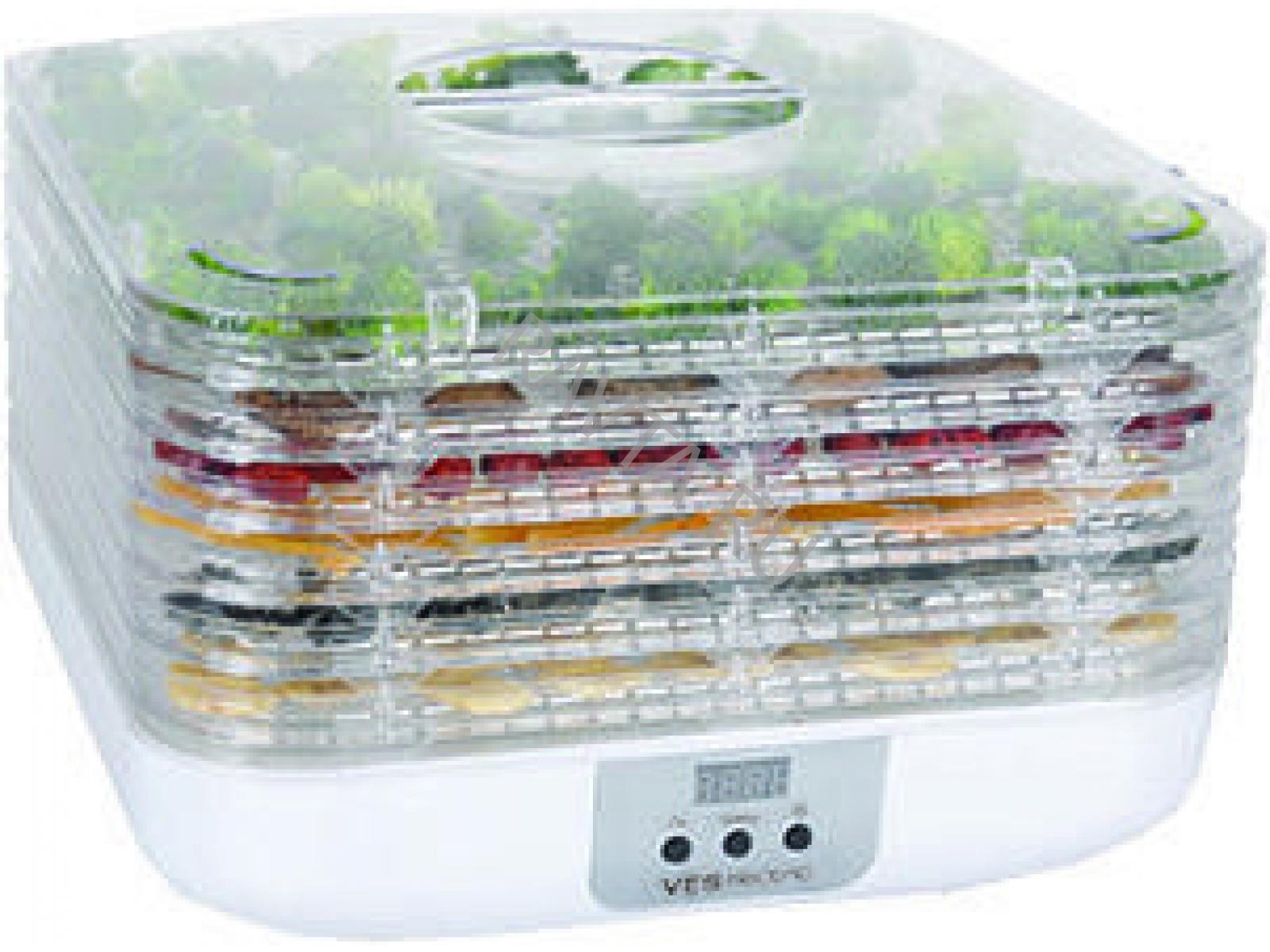 Сушилка для овощей VES VMD 7Домашние помощники<br><br><br>Тип: сушилка для овощей<br>Мощность, Вт.: 350<br>Объем: 6 чаш<br>Цвет: белый