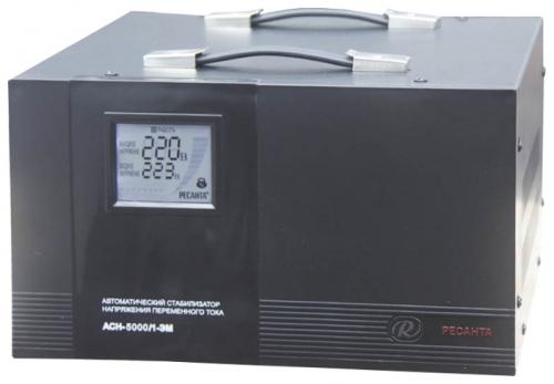 Стабилизатор напряжения Ресанта ACH-5000/1-ЭМСтабилизаторы напряжения<br><br><br>Тип: стабилизатор напряжения