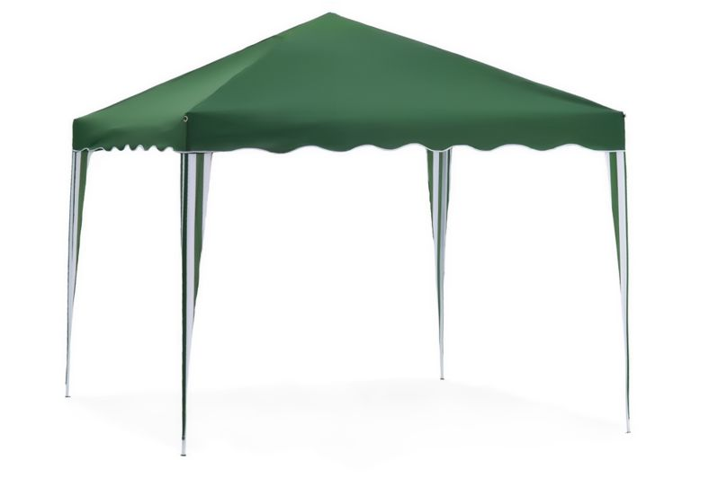 Садовый тент-шатер Green Glade 3001Садовые тенты и шатры<br>Green Glade 3001 защитит Вас и Вашу компанию от неприятного солнца. Долгое нахождение под ярким солнцем часто является причиной солнечного удара или плохого самочувствия. Тент шатер Green Glade 3001 идеально подходит для того чтобы укрыться от слишком жаркого солнца. Если вы решили провести пикник на свежем воздухе, вы сможете без труда установить шатер Green Glade 3001 на любой ровной площадке. Этот тент шатер можно брать с собой на отдых в лесу – в сложенном виде он не занимает много места и легко поместится в любом автомобиле.<br><br>Тип: Садовый тент-шатер<br>Покрытие: полиэстер 140 г.<br>Каркас: металлическая трубка (19х19х25 мм)<br>Размеры упаковки: 115х13х17 см