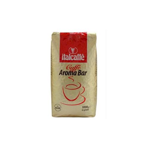 Кофе в зернах Italcaffe Aroma Bar 1 кгКофе и чай<br>Кофе ItalCaffe Aroma Bar - это идеальный кофе для любителя крепкого и насыщенного эспрессо с густой и устойчивой пенкой. Аромат кофе ItalCaffe Aroma Bar пробуждает чувства, заставляя двигаться быстрее привычного ритма жизни. состав: 100% арабика степень обжарки. Упаковка: вакуумная, полностью предохраняющей от любых воздействий окружающей среды, сохраняется вкус и аромат кофейного зерна. Применение: Идеально подходит для приготовления настоящего.<br>