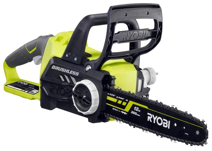 Электрическая цепная пила Ryobi One+ OCS1830 (OCS1830)Пилы<br>Аккумуляторная цепная пила Ryobi ONE&amp;#43; OCS1830 предназначена для валки деревьев, распиловки бревен, удаления сучьев с поваленного дерева. Работает на литий-ионном аккумуляторе напряжением 18 В. Производит меньше шума при работе и не загрязняет окружающую среду. Отличается небольшим весом, что упрощает пользование пилой.<br> <br><br>- Отсутствие выхлопов благодаря работе на аккумуляторе;<br>- Аккумулятор совместим со всеми инструментами модельного ряда One&amp;#43;™ 18 В;<br>- Безинструментальная регулировка натяжения цепи;<br>- Цепной тормоз - безопасная работа аккумуляторной...<br><br>Тип: электрическая цепная<br>Конструкция: ручная<br>Функции и возможности: тормоз цепи