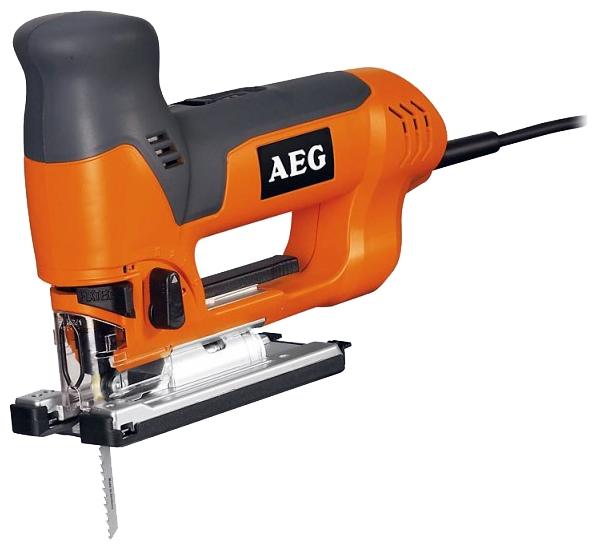 Лобзик AEG 412950 ST 800 XEЛобзики электрические<br>Лобзик AEG ST 800 XE 412950 - бытовой инструмент, предназначенный для прямых и криволинейных пропилов. Инструмент применяется для резки разных пород дерева, пластика и металла. Лобзик обладает плавным регулятором скорости движения пилки, а высокая мощность двигателя 705 Вт позволяет делать пропил более качественным.<br><br>Потребляемая мощность: 705 Вт<br>Частота движения пилки: 600 - 2700 ходов/мин<br>Длина хода: 26 мм<br>Глубина пропила дерева: 110 мм<br>Глубина пропила алюминия: 25 мм<br>Глубина пропила стали: 10 мм<br>Рукоятка: скобовидная, обрезиненная<br>Работа от аккумулятора: нет