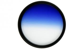 Светофильтр Fujimi GRAD BLUE 72ммСветофильтры<br><br><br>Описание : цветной градиентный фильтр голубой<br>Диаметр, мм: 72