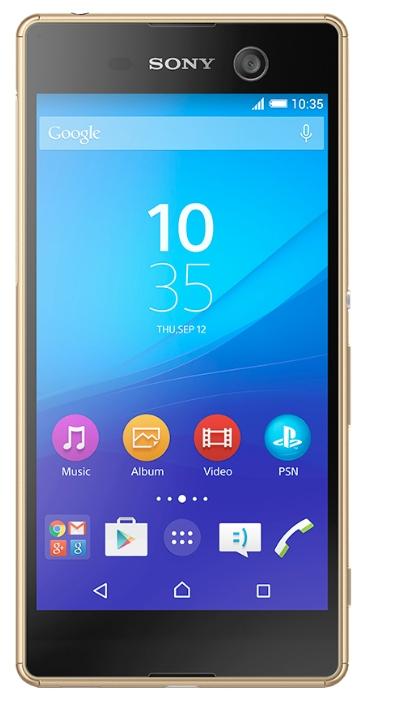 Мобильный телефон Sony Xperia M5 E5603 GoldМобильные телефоны<br><br>