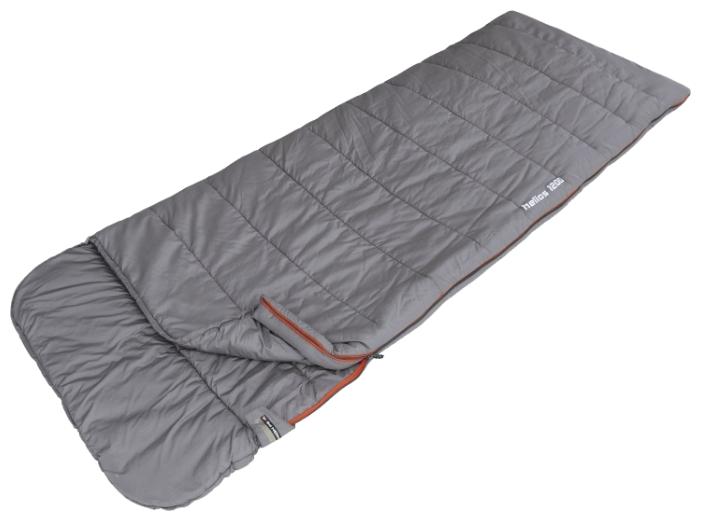 Спальный мешок High Peak Helios 1200Спальные мешки<br>Спальник HIGH PEAK Helios 1200 23318 отличается долгим сроком службы. Используется во время активного отдыха на свежем воздухе. Внешний материал - это нейлон, а внутренний - полиэстер. Спальник применяется при температуре до - 3°С.<br><br>Преимущества спального мешка HIGH PEAK 23318<br>- Термоклапан вдоль молнии;<br>- Синтетический наполнитель;<br>- Возможность состёгивания;<br>- Температура комфорта: &amp;#43; 13°С;<br>- Износоустойчивость;<br>- Изделие легко стирать, оно быстро сохнет;<br>- Нижняя температура комфорта &amp;#43; 9°С.<br><br>Тип: спальный мешок<br>Температура комфорта: + 13°С<br>Наружный материал: нейлон (40D 297T Ripstop)<br>Внутренний материал: полиэстер (190T)<br>Наполнитель: синтетика (Dura Loft Micron)