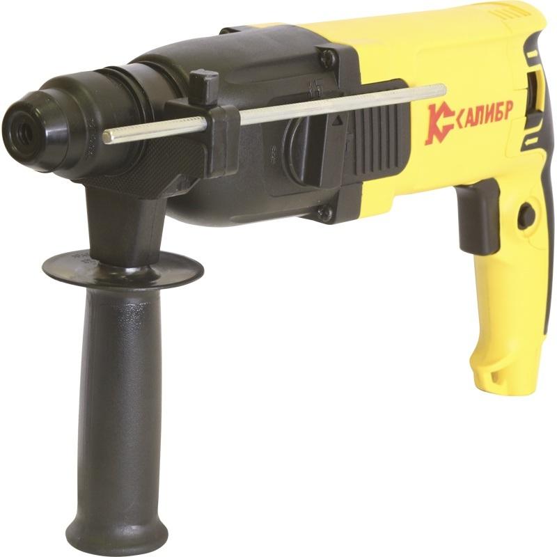 Перфоратор Калибр Мастер ЭП-800/26МПерфораторы<br><br><br>Тип крепления бура: SDS-Plus<br>Потребляемая мощность: 800<br>Макс. энергия удара: 2,6 Дж<br>Макс. диаметр сверления (дерево): 30 мм<br>Макс. диаметр сверления (металл): 13 мм<br>Макс. диаметр сверления (бетон): 26 мм