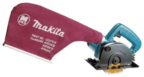 Пила алмазная Makita 4105KBПилы<br><br><br>Тип: алмазная<br>Конструкция: ручная<br>Мощность, Вт: 940<br>Функции и возможности: электронная защита двигателя, пылесборник<br>Дополнительно: длина сетевого кабеля 2 м