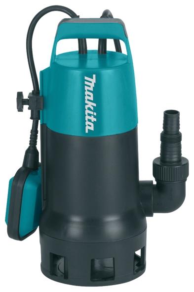 Насос Makita PF1010Насосы<br><br><br>Глубина погружения: 5 м<br>Максимальный напор: 10 м<br>Пропускная способность: 14.4 куб. м/час<br>Напряжение сети: 220/230 В<br>Потребляемая мощность: 1100 Вт<br>Качество воды: грязная<br>Установка насоса: вертикальная
