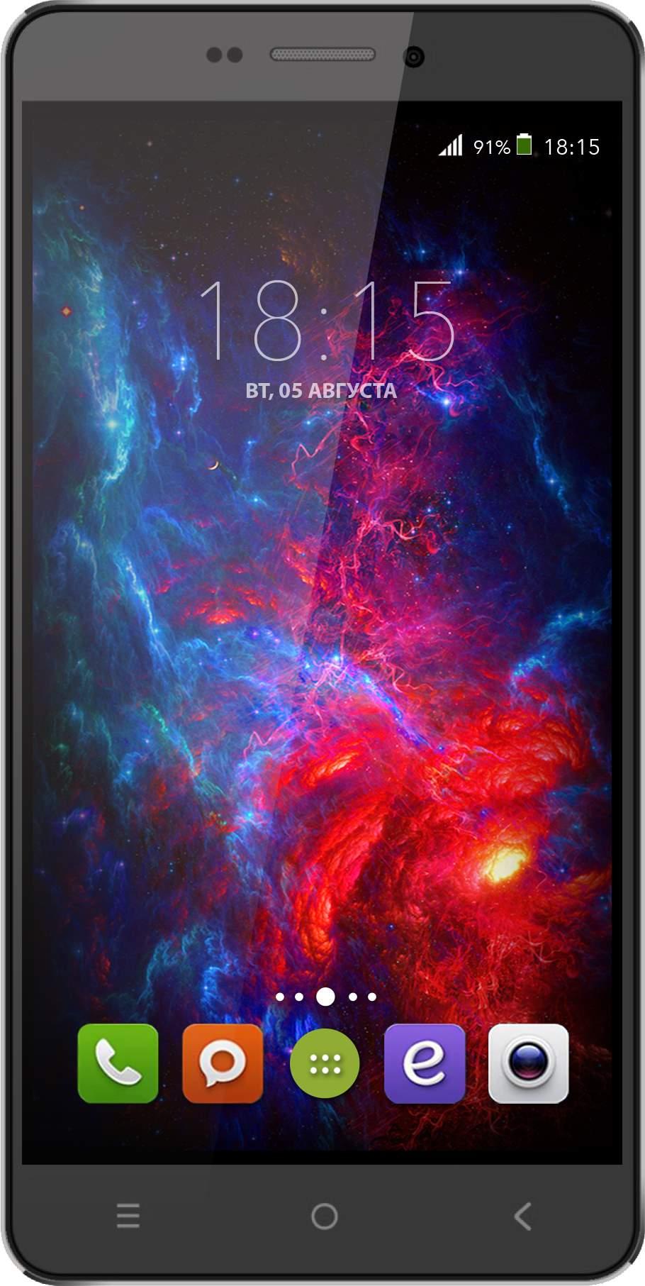Мобильный телефон BQ BQS-5515 Wide BlackМобильные телефоны<br><br>