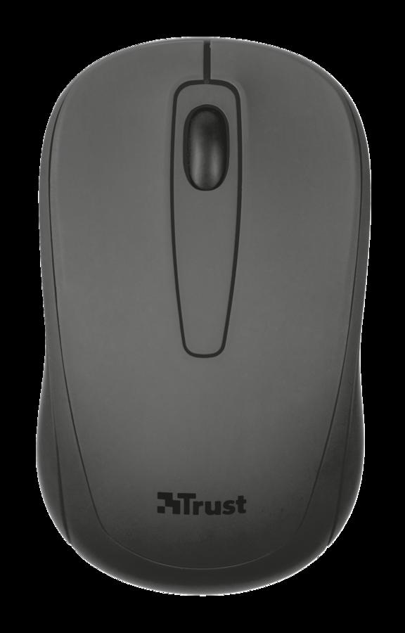 Компьютерная мышь Trust Ziva Wireless Compact mouse (21509)Компьютерные мыши<br>- Диапазон беспроводного подключения — 8 м<br>- Гнездо для хранения микроприемника USB<br>- Выключатель<br>- Подходит для пользователей-левшей<br>- Резиновый верхний слой для удобного захвата<br>