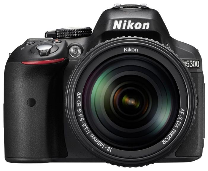 Зеркальный фотоаппарат Nikon D5300 KIT 18-105 VR, черныйЦифровые зеркальные фотоаппараты<br>Nikon D5300 KIT 18-105 VR и безграничные возможности.<br>Матрица 24,2 Мп, чувствительность ISO от 100 до 25 600 единиц, Wi-Fi и GPS модули, 39-точечная система фокусировки — все это создает просто безграничные возможности для фототворчества. Еще бы! Ведь зеркальный фотоаппарат Nikon D5300 KIT 18-105 VR черного цвета для того и создан, чтобы вы в любой момент и в любых условиях могли сделать великолепный снимок или записать отличный видеоролик в формате FullHD.<br>Теперь об одном из важнейших факторов такой камеры: о стоимости. Она прекрасна! В том смысле, что отличается доступностью и даже...<br><br>Тип: Цифровая зеркальная фотокамера<br>Носители информации: SD, SDHC, SDXC<br>Видеорежим: есть<br>Звук в видеоклипе: есть<br>Вспышка: есть<br>Кроп фактор: 1.5<br>Тип матрицы: CMOS<br>Число эффективных пикселов, Mp: 24.2 млн<br>Чувствительность: 100 - 3200 ISO, Auto ISO, ISO6400, ISO12800, ISO25600<br>Режимы замера экспозиции: 3D цветовой матричный, центровзвешенный, точечный