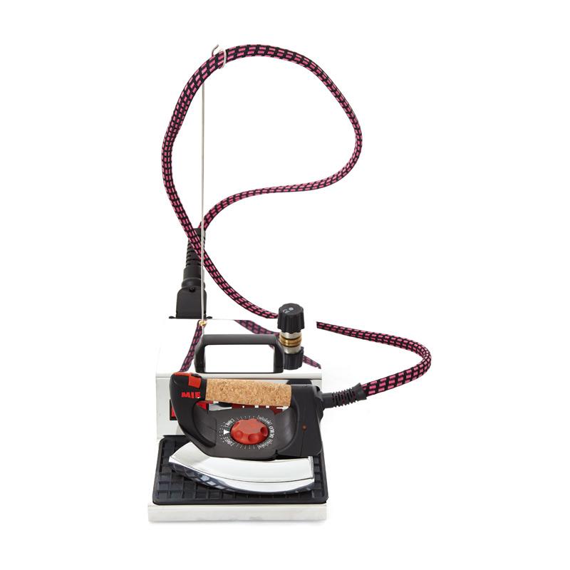 Парогенератор MIE Stiro Pro-100 InoxУтюги и гладильные системы<br><br><br>Тип : Парогенератор<br>Мощность, Вт: 1400<br>Время непрерывной работы: 1,5 часа<br>Объём резервуара для воды, мл: 1500