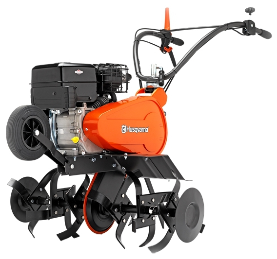 Культиватор Husqvarna TF334Мотоблоки и культиваторы<br><br><br>Тип: культиватор<br>Объем топливного бака: 3.1 л<br>Ширина обработки почвы: 80 см<br>Глубина вспахивания: 30 см<br>Тип двигателя: бензиновый<br>Производитель и модель двигателя: Briggs and Stratton Серия 950<br>Объем двигателя: 208 куб. см<br>Мощность двигателя: 4.50 кВт / 6.12 л.с.<br>Тип редуктора: цепной<br>Количество передач: 1 вперед, 1 назад