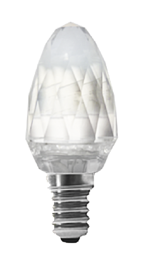 Светодиодная лампа VKlux BK-14W3C30 DiamondСветодиодные лампы<br>Diamond от ВК-ЛЮКСТМ — это: элитная серия для основного и вспомогательного освещения, идеально подходят к хрустальным люстрам и бра.<br><br>Тип: светодиодная лампа<br>Тип цоколя: E14<br>Рабочее напряжение, В: 220<br>Мощность, Вт: 4<br>Мощность заменяемой лампы, Вт: 40<br>Световой поток, Лм: 350<br>Цветовая температура, K: 3000<br>Угол раскрытия, °: 360<br>Материал: стекло