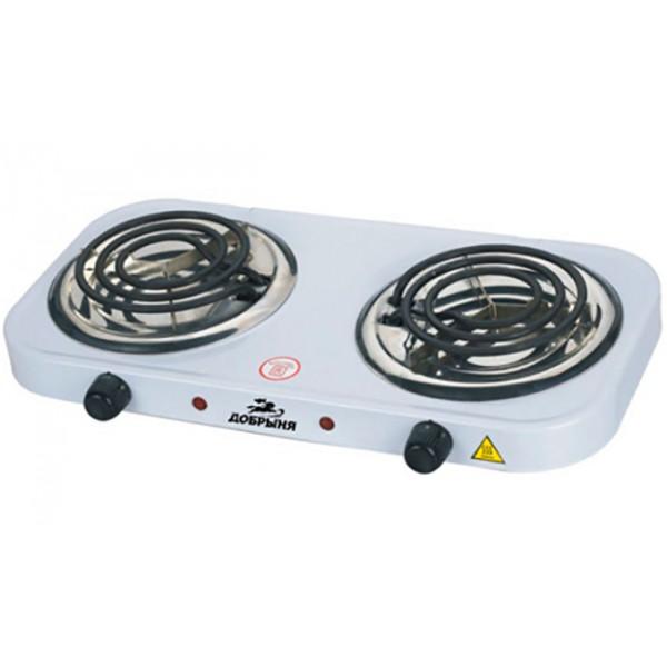 Кухонная плита Добрыня DO 2203Кухонные плиты<br>- 5 режимов нагрева<br>- Диаметр конфорки 15 см<br>- Защита от перегрева<br>- Световой индикатор работы<br>- Резиновые ножки<br>