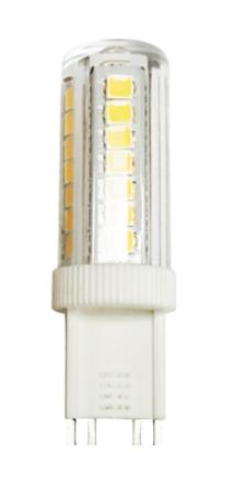 Светодиодная лампа VKlux BK-9B5EET Compact DIMСветодиодные лампы<br><br><br>Тип: светодиодная лампа<br>Тип цоколя: G9<br>Рабочее напряжение, В: 220<br>Мощность, Вт: 5<br>Мощность заменяемой лампы, Вт: 60<br>Световой поток, Лм: 450<br>Цветовая температура, K: 3000<br>Угол раскрытия, °: 360<br>Материал: пластик<br>Диммирование: да
