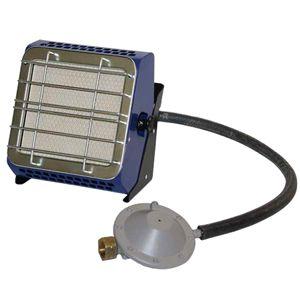 Газовый обогреватель Hyundai H-HG2-37-UI687Газовые обогреватели<br><br><br>Тип: газовый обогреватель<br>Номинальная тепловая мощность, кВт: 3.65<br>Расход газа: 0.33 л/ч<br>Тип топлива: пропан/бутан<br>Площадь помещения: 30 м2