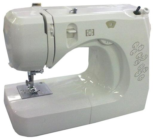 Швейная машина Comfort 12Швейные машины<br><br><br>Тип: электромеханическая<br>Вышивальный блок: нет<br>Количество швейных операций: 8<br>Выполнение петли: полуавтомат<br>Потайная строчка : есть<br>Кнопка реверса: есть<br>Рукавная платформа: есть<br>Нитевдеватель: есть<br>Отсек для аксессуаров : есть