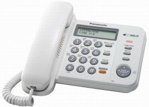 Проводной телефон Panasonic KX-TS2358RUWПроводные телефоны<br>Panasonic kx ts2358ruw пригодится всегда и везде!<br>Совершенно не важно, где вы решили установить проводной телефон Panasonic kx ts2358ruw — дома или в офисе. Ведь эта модель пригодится вам везде, ее удобный интерфейс, эргономичный дизайн, высокая функциональность и очень демократичная цена производят самое лучшее впечатление!<br>Вам важно, чтобы у телефона была функция громкой связи, автоматического определителя номера, переадресации, повторного набора, автодозвона и удержании линии? Отлично! Этот проводной телефон снабжен всеми перечисленными возможностями, и...<br><br>Тип: проводной телефон<br>Дисплей: есть<br>Органайзер: есть<br>АОН/Caller ID: есть/есть<br>Громкая связь (спикерфон): есть<br>Количество линий : 1<br>Память (количество номеров): 50<br>Однокнопочный набор (количество кнопок): 20<br>Встроенная телефонная книга: есть<br>Переадресация (Flash): есть