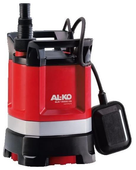 Насос AL-KO SUB 12000 DS ComfortНасосы<br>Надежность, комфорт, мощность. Откачивание до минимального уровня 3 мм. Максимальная производительность 9 500 л/ч. Идеально для забора, откачивания и перекачивания воды из бассейнов, колодцев, цистерн и затопленных подвалов. С регулируемым поворотным основанием насоса.<br><br>Глубина погружения: 5 м<br>Максимальный напор: 8 м<br>Пропускная способность: 9.5 куб. м/час<br>Напряжение сети: 220/230 В<br>Потребляемая мощность: 550 Вт<br>Качество воды: чистая<br>Размер фильтруемых частиц: 3 мм<br>Установка насоса: вертикальная