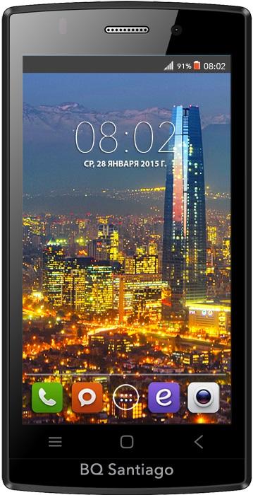 Мобильный телефон BQ BQS-4505 Santiago BlackМобильные телефоны<br><br>