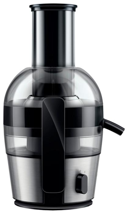 Соковыжималка Philips HR 1863/00Соковыжималки<br><br><br>Тип   : универсальная<br>Мощность, Вт.: 700<br>Резервуар для сока: 0.8 л<br>Система прямой подачи сока: Есть<br>Сбор мякоти: автоматический выброс мякоти, объем резервуара 1.20 л<br>Защитные функции: защита от случайного включения<br>Количество скоростей: 1<br>Размер горловины: 75 мм
