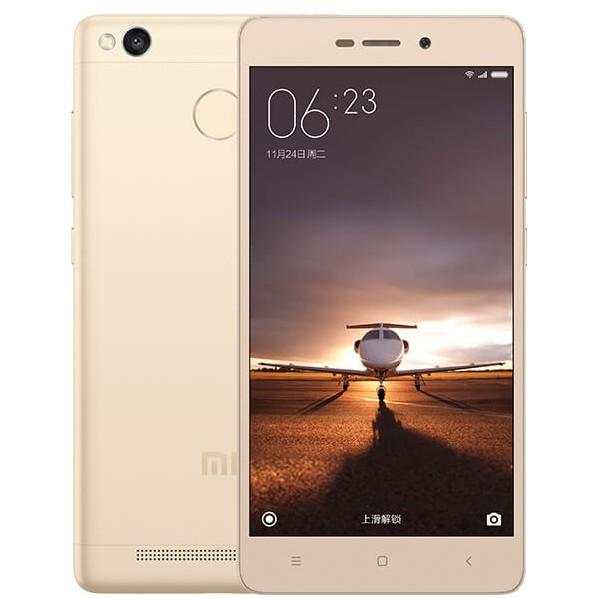 Мобильный телефон Xiaomi Redmi 3S 16GB GoldМобильные телефоны<br><br><br>Тип: Смартфон<br>Стандарт: GSM 900/1800/1900, 3G, 4G LTE, LTE-A Cat. 4<br>Поддержка диапазонов LTE: 2100, 1800, 2600, 2600, 1900, 2300, 2500 МГц<br>Тип трубки: классический<br>Поддержка двух SIM-карт: есть<br>Операционная система: Android 6.0<br>Встроенная память: 16 Гб<br>Фотокамера: 13 млн пикс., светодиодная вспышка<br>Форматы проигрывателя: MP3<br>Спутниковая навигация: GPS/ГЛОНАСС/BeiDou