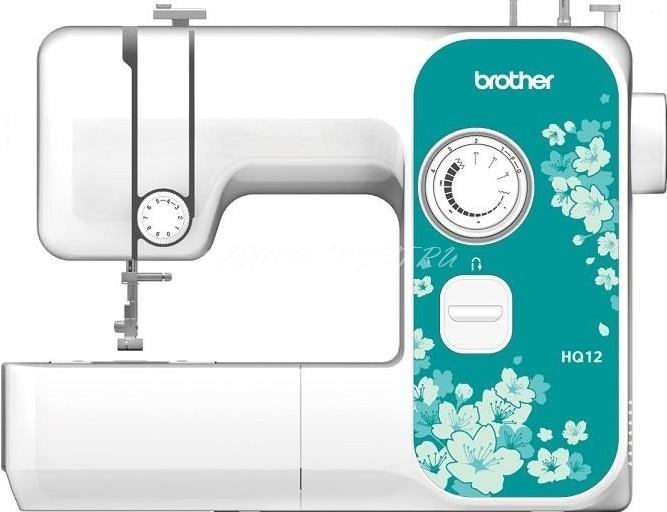 Швейная машина Brother HQ-12Швейные машины<br><br><br>Тип: электромеханическая<br>Тип челнока: ротационный горизонтальный<br>Количество швейных операций: 2<br>Максимальная длина стежка: 4 мм<br>Максимальная ширина стежка: 5.0 мм<br>Лапка для вшивания молнии: есть<br>Лапка для пришивания пуговиц: есть<br>Скорость вышивания, стежков/мин : 750
