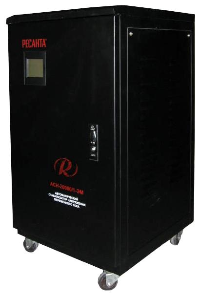 Стабилизатор напряжения Ресанта ACH-20000/1-ЭМСетевые фильтры и стабилизаторы<br><br><br>Тип: стабилизатор напряжения