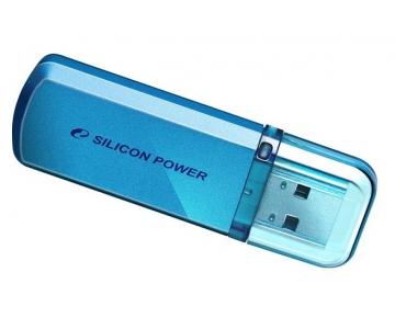 Flash накопитель Silicon Power Helios 101 16Gb голубой / SP016GBUF2101V1B