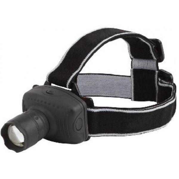 Фонарь Трофи TG3WФонари<br>Фонарик налобный Трофи TG3W — в фонаре используется 3 LED лампочки, есть удобное крепление, при необходимости его можно зафиксировать. Фонарь представляет собой светодиодную модель, которая идеально подходит для походных условий. Ударопрочный пластик корпуса позволит защитить фонарь от падений. Вы можете использовать фонарь такого типа не только на улице, но и прикрепив в палатке или помещении. Питание происходит через 3 батареи типа ААА&amp;#40;не входят в комплект&amp;#41;.<br>
