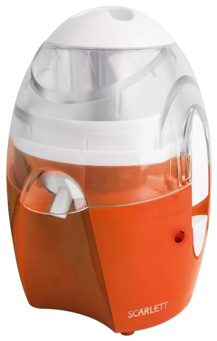 Соковыжималка Scarlett SC-JE50S25 OrangeСоковыжималки<br><br><br>Тип   : центробежная<br>Мощность, Вт.: 550<br>Система прямой подачи сока: Есть<br>Сбор мякоти: автоматический выброс мякоти<br>Количество скоростей: 1