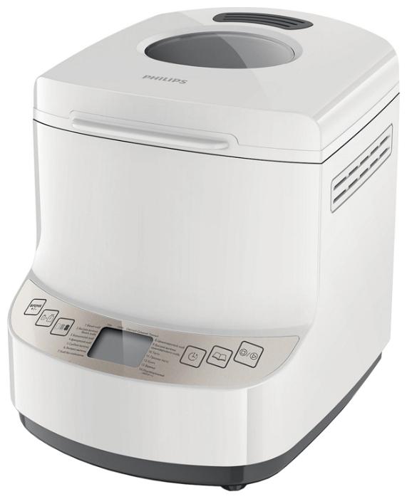 Хлебопечь Philips HD 9045/30Хлебопечки<br><br><br>Тип: Хлебопечь<br>Максимальный вес выпечки, г: 1000<br>Регулировка веса выпечки: Есть<br>Выбор цвета корочки: Есть<br>Таймер: Есть<br>Поддержание температуры: Есть