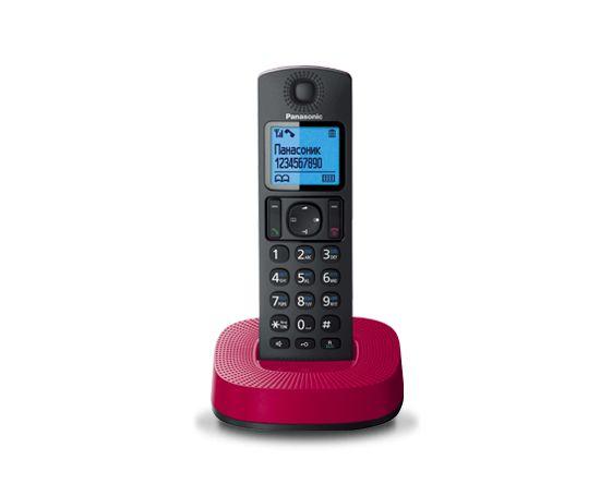 Радиотелефон Panasonic KX-TGC310RURРадиотелефон Dect<br><br><br>Тип: Радиотелефон<br>Рабочая частота: 1880-1900 МГц<br>Стандарт: DECT<br>Возможность набора на базе: Нет<br>Проводная трубка на базе : Нет<br>Время работы трубки (режим разг. / режим ожид.): 16/200<br>Дисплей: на трубке (цветной), 4 строки<br>Журнал номеров: 50